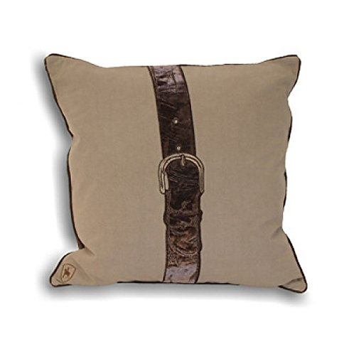"Polo Strap"" Cushion Covers, Taupe, 45 x 45 cm"