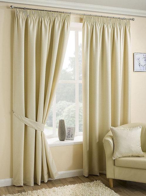 Ariel, Faux Silk Curtains