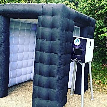 Selfiecube ou cube golflable photobooth ile de france