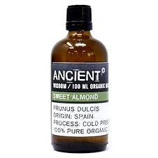 OrgBO-01 Sweet Almond Organic Base Oil -