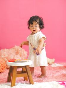一歳, お誕生日, 出張撮影のStudio Honey Days(スタジオハニーデイズ)