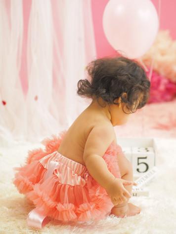 1歳のお誕生日祝い, 出張撮影のStudio Honey Days(スタジオハニーデイズ)