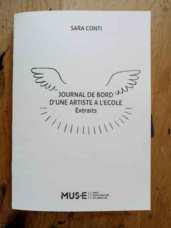 """""""Journal de bord d'une artiste à l'école - Extraits"""""""