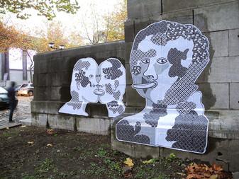"""MOSTRI"" - Charleroi(B) - 2016 - Collage"