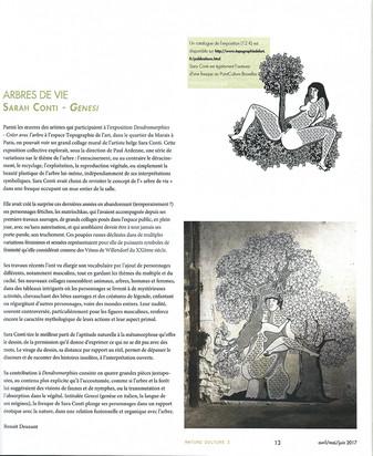 """""""Arbres de vie"""" par Benoit Deuxant - Détours/Avril-Mai-Juin 2017"""