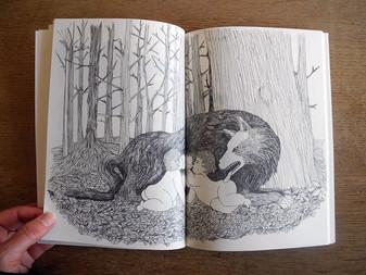 """""""R&R"""", un recueil de dessins inspirés de la légende de Romulus et Remus"""