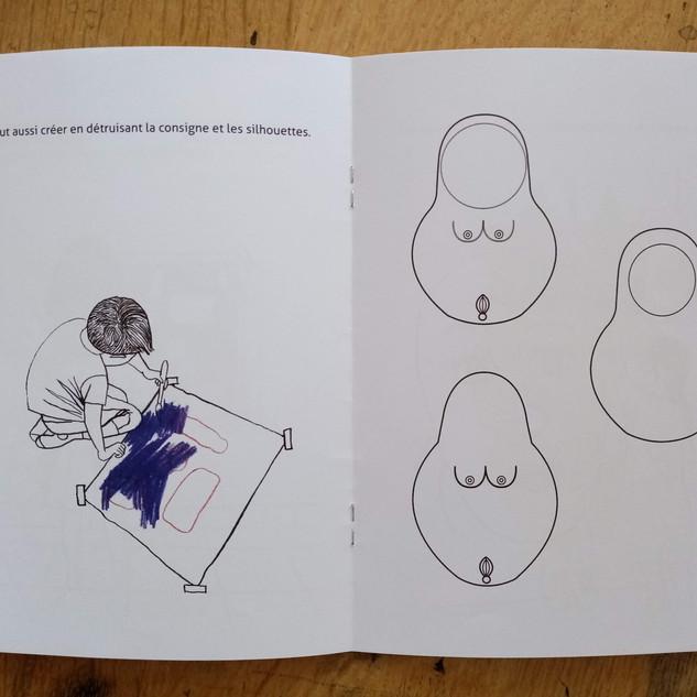 Journal de bord d'une artiste à l'école - Extraits