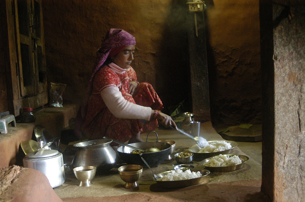 © Antoine Roulet-Nepalese cooking