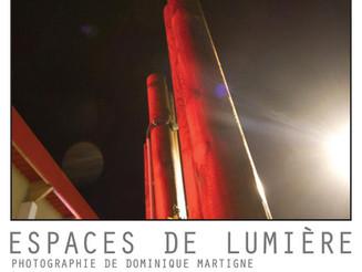 Exposition ESPACES DE LUMIERE