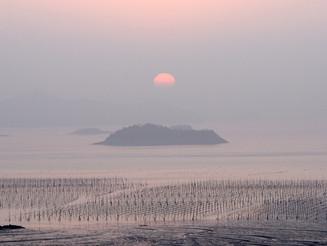 Sunset at Anjwa island, South Korea