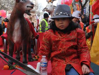 Défilé du Nouvel An Chinois à Paris