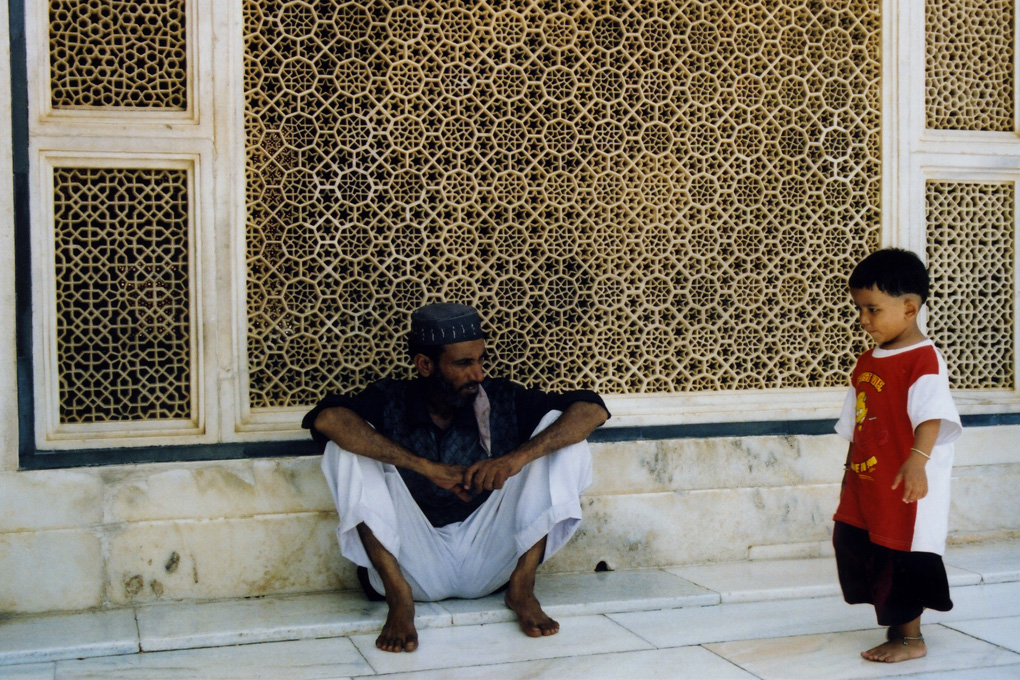 India-Father & son in Mosque.jpg