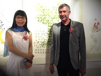 Exposition de Hui Chan Wang au Temple Fo Guang Shan
