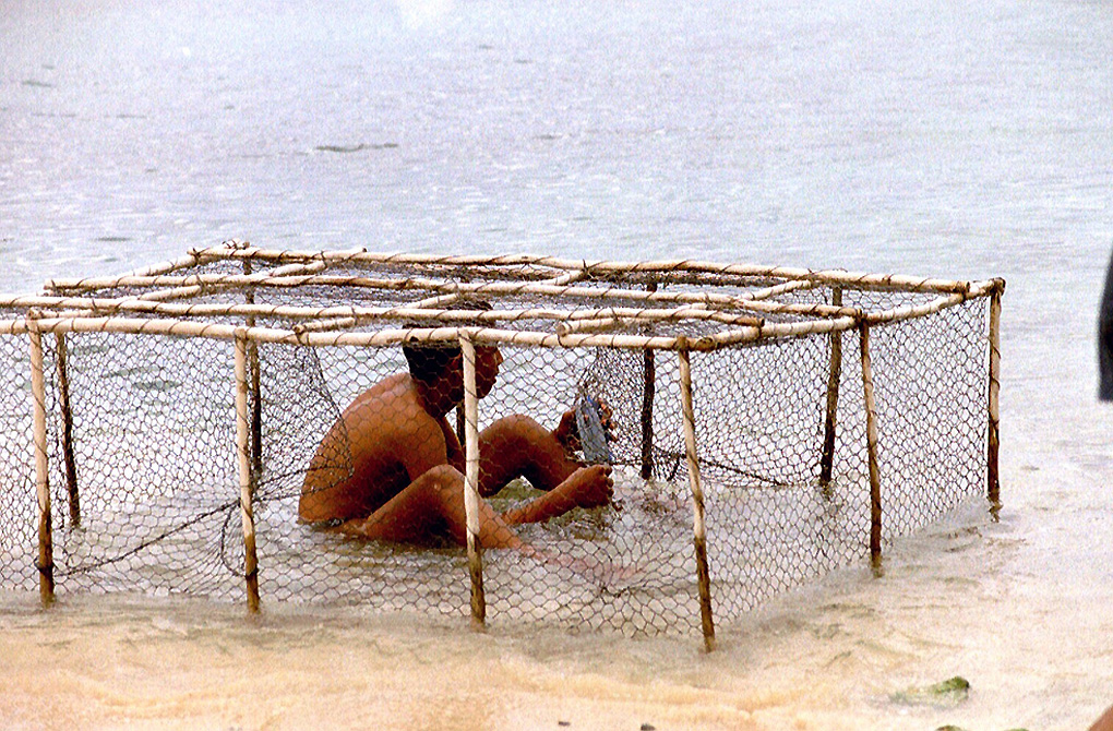 Antoine Roulet-Santo Domingo-cage peche.jpg