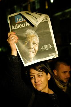 © Antoine Roulet-Hommage à Mandela