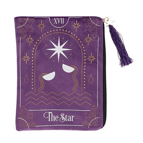 The Star Card Zippered Tarot Bag