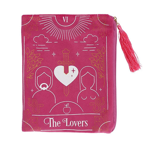 The Lovers Tarot Card Zippered Bag