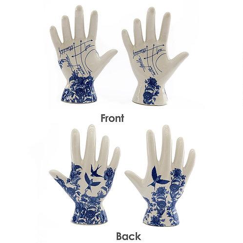 Phrenology Floral Hand