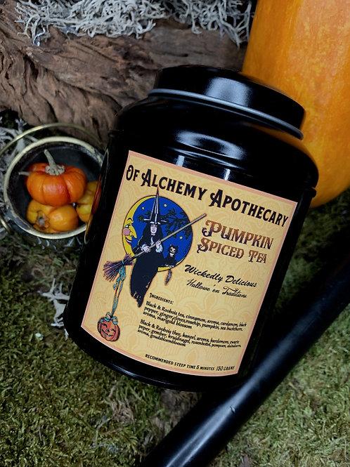 Pumpkin spice tea blend
