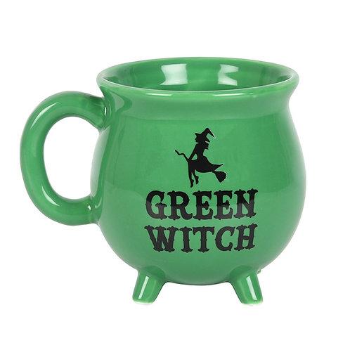 Green WitchCauldron Mug
