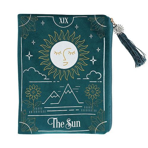 Tarot Sun Card Zippered Bag