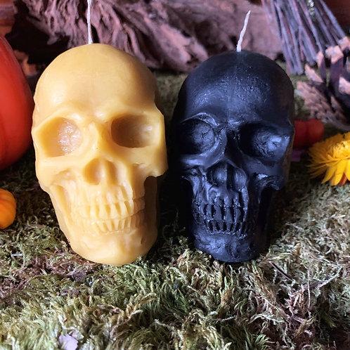 Beeswax Skulls