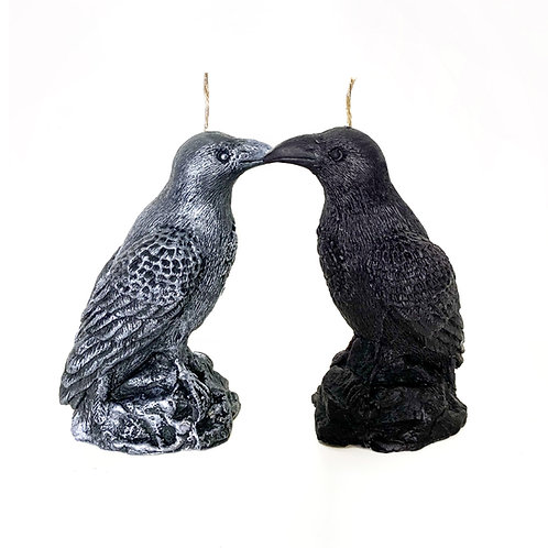 Raven Candle