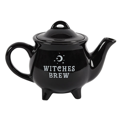 Witches Brew Black Ceramic Tea Kettle