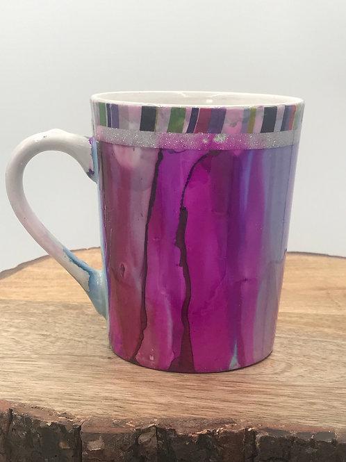 Party glitter mug