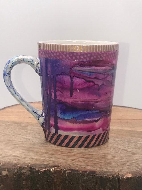 Crazy color mug