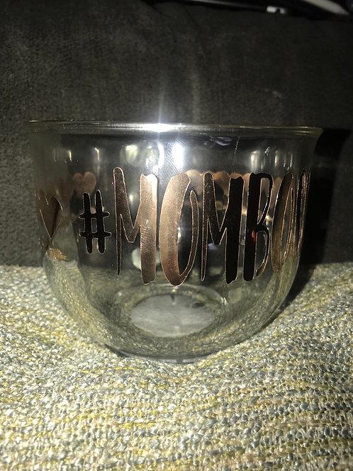 #MOMBOSS Glass Mug