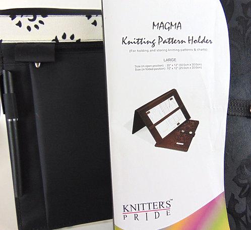 Knitting Pattern Holder