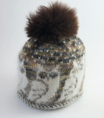Samoyed Hat with PomPom