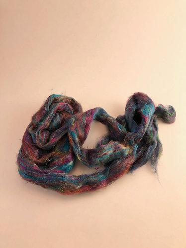 Sari Silk Blueish mix (1oz)