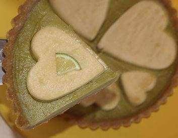 tarte sans cuisson, crues, au citron revisitée