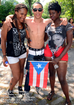 CHULO promotion at Puerto Rican parades in Manhattan & Sunset Park with Joseph by Ricardo Muniz 15