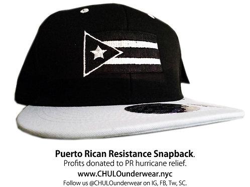 Puerto Rican Resistance Flag Snapback