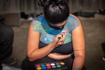 Body Artist, Karen Adeva