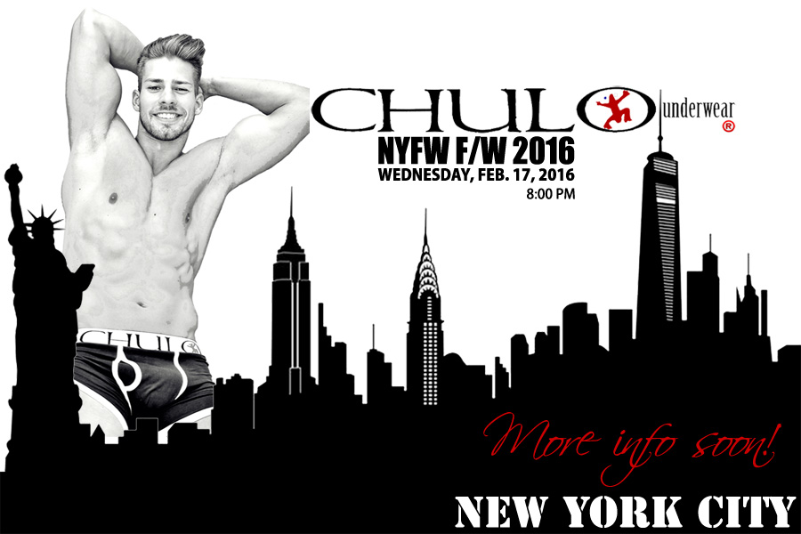 CHULO Underwear FW 2016 Feb 17 promo by RMuniz