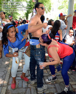 CHULO promotion at Puerto Rican parades in Manhattan & Sunset Park with Joseph by Ricardo Muniz 07
