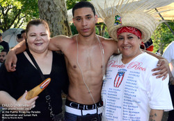 CHULO promotion at Puerto Rican parades in Manhattan & Sunset Park with Joseph by Ricardo Muniz 24