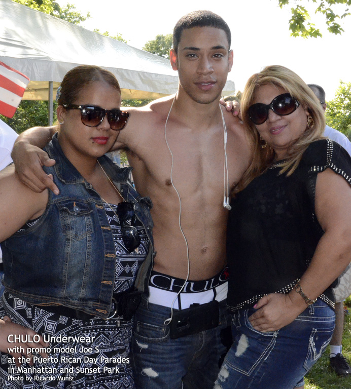 CHULO promotion at Puerto Rican parades in Manhattan & Sunset Park with Joseph by Ricardo Muniz 21