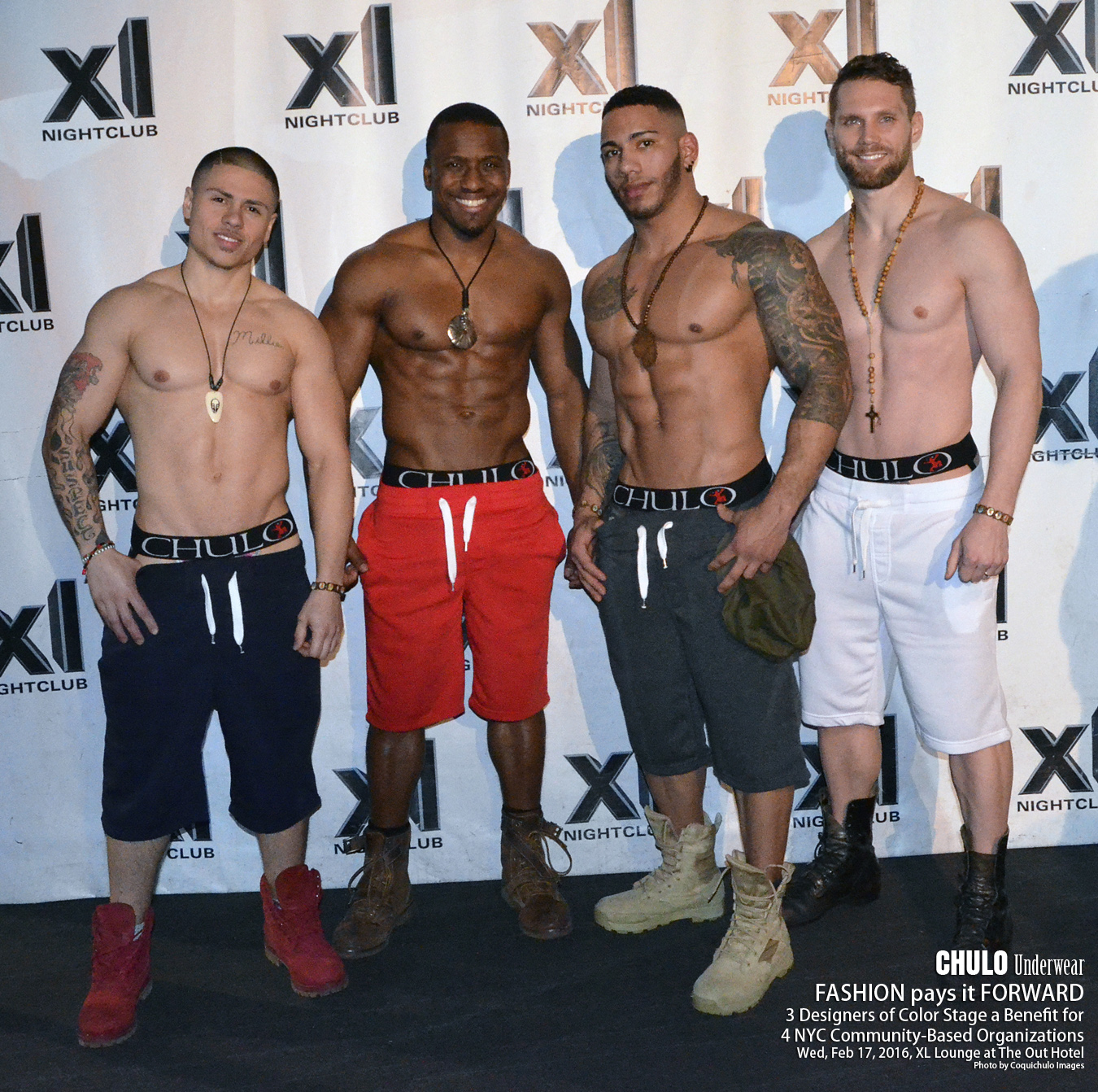 XL Lounge CHULO Underwear Charity Fashion Show 003
