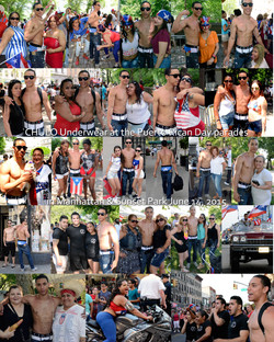 CHULO promotion at Puerto Rican parades in Manhattan & Sunset Park with Joseph by Ricardo Muniz 01