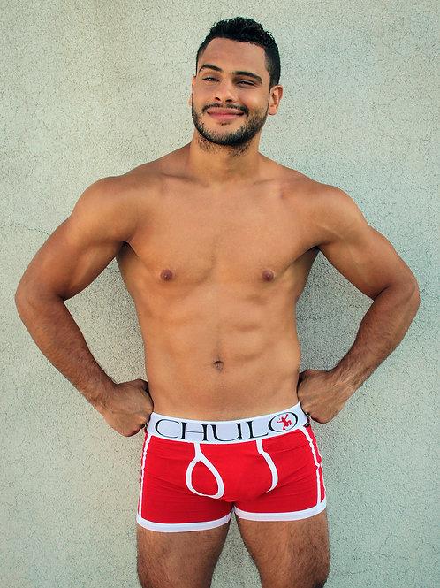 CHULO Sport Boxer Brief in Red