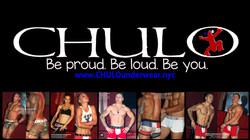 CHULO logo for XL CHULO video