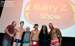 CHULO Underwear on the Barry Z Show with Robbyne Kaamil 008