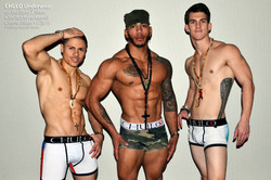CHULO Underwear on the Barry Z Show with Robbyne Kaamil 010