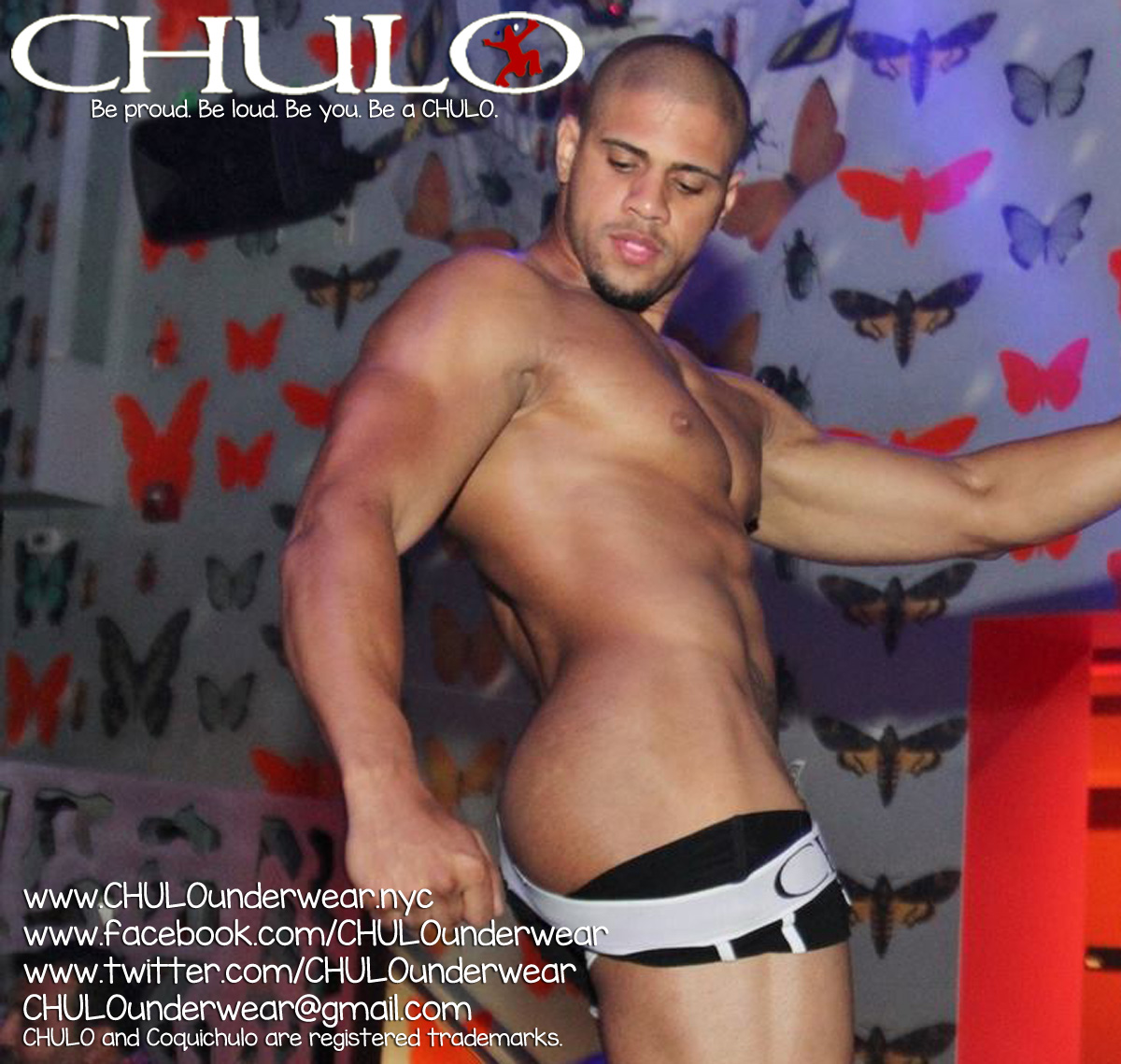 CHULO at Escandalo video promo shot