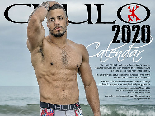 CHULO Underwear 2020 Poster Calendar for Charity